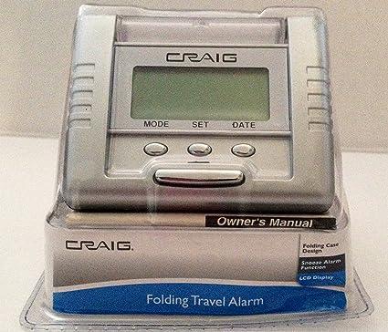 Amazon Craig Folding Travel Alarm Home Kitchen