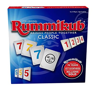 Rummikub by Pressman - Classic Edition - The Original Rummy Tile Game: Toys & Games