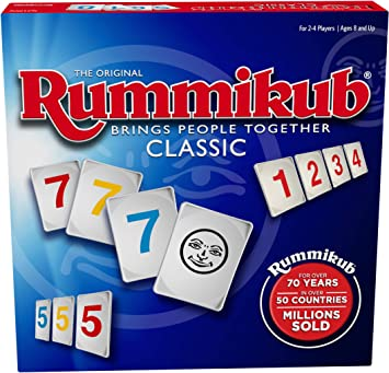 PRESSMAN - The Original Rummikub Fast Moving Rummy Tile - 1 Game ...