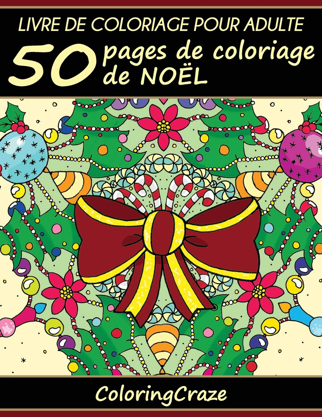 Amazon Com Livre De Coloriage Pour Adulte 50 Pages De