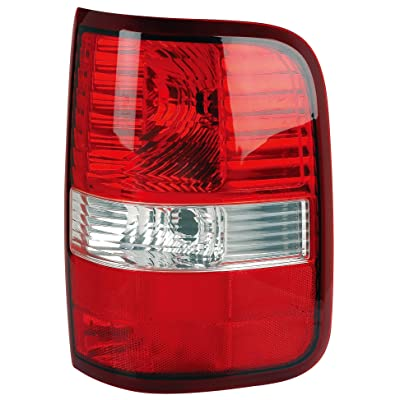 Epic Lighting OE Fitment Replacement Rear Brake Tail Light Assembly for 2004-2008 F-150 F-250 [FO2801182 4L3Z13404AA 5L3Z13404CA] Right Passenger Side RH: Automotive