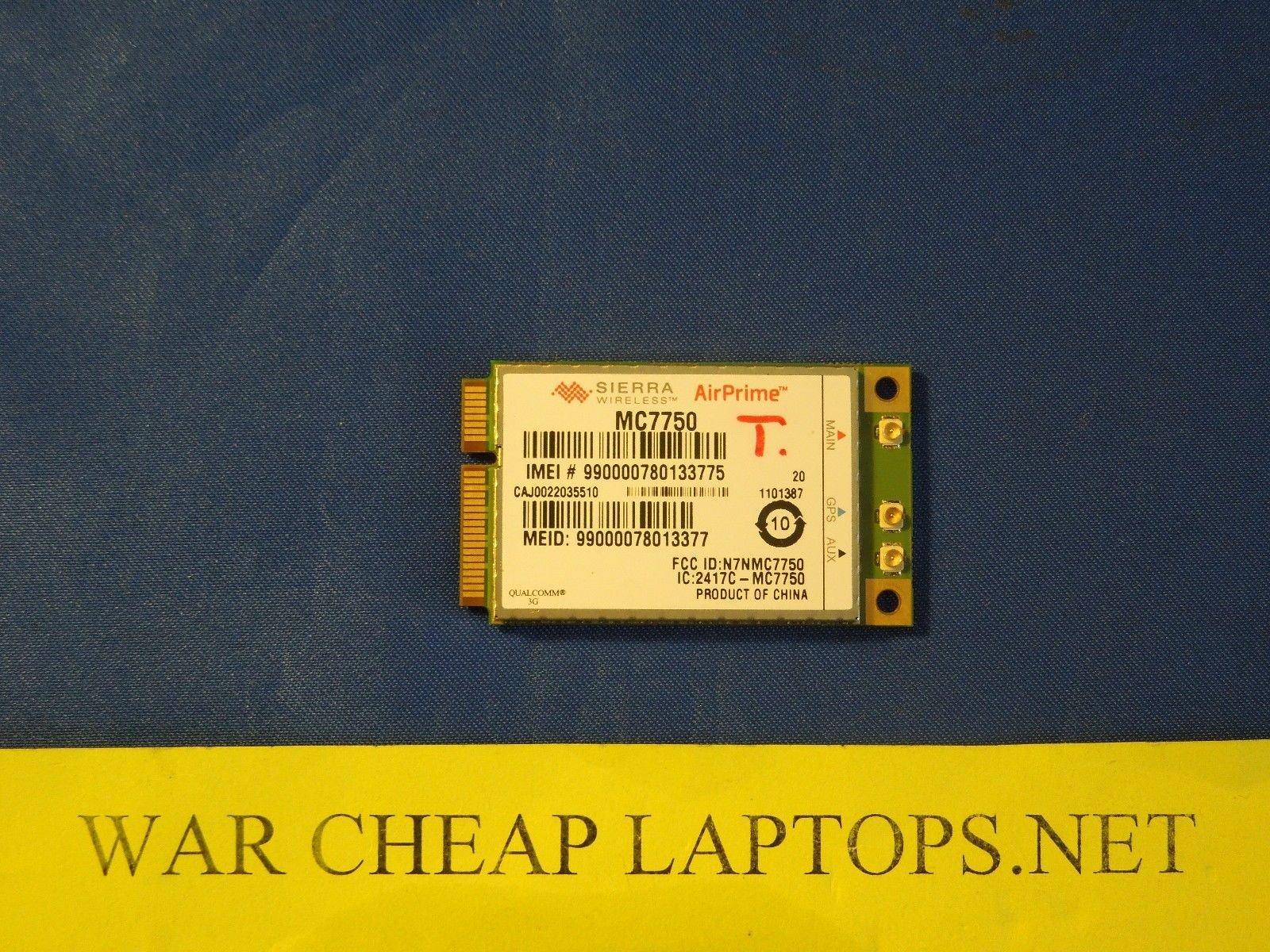 Sierra Airprime MC7750 LTE and Ev-do Module 4g Pci Express Pci-e Card Verizon