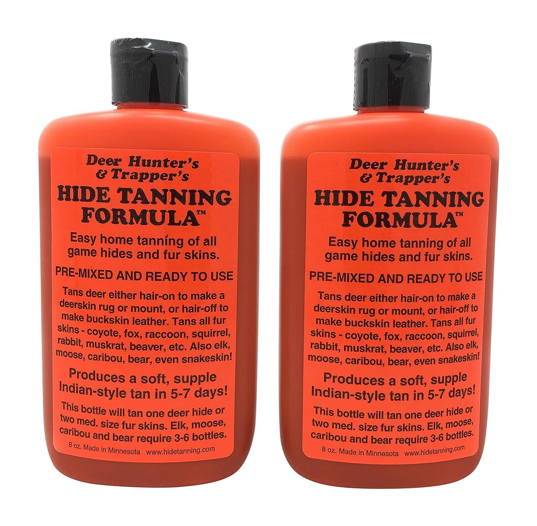 Amazon.com: Deer Hunter's & Trapper's Hide & Fur Tanning Formula 8 oz.: Beauty