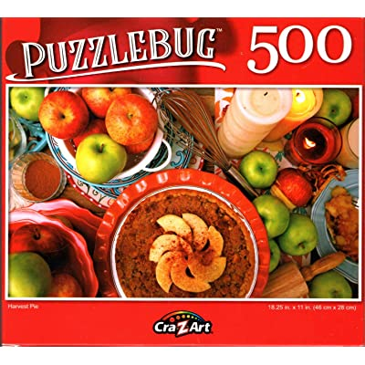 Harvest Pie - 500 Pieces Jigsaw Puzzle - p015: Toys & Games