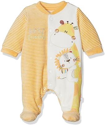 Chicco 9021555, Pelele para Bebés, Naranja (Arancio Rigato), (Talla del