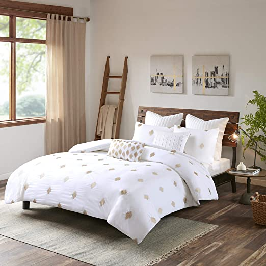 Amazon.com: INK+IVY Stella Dot King/Cal King Size Bed Comforter
