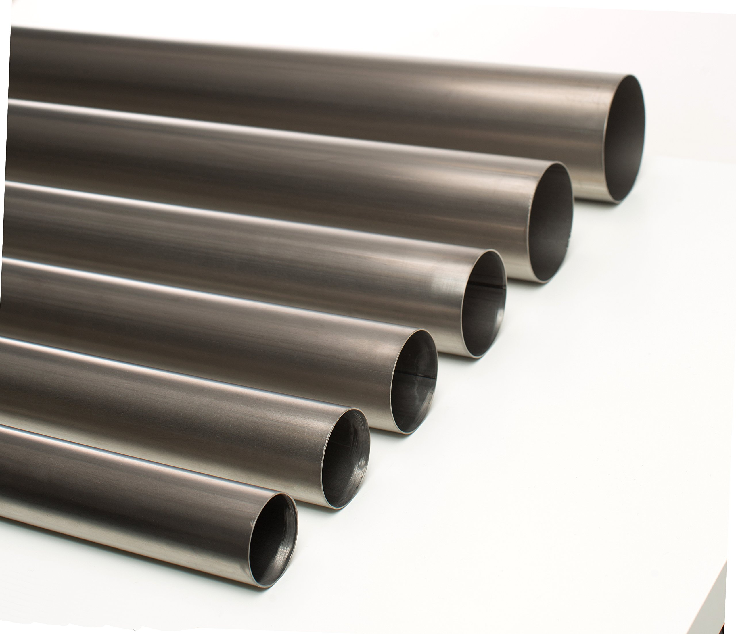 Ticon Industries - Titanium 1.75'' Inch Diameter Exhaust Tubing 2 Foot Length 1.2mm/.047'' wall (Qty 1) - 102-04524-0000