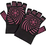 Gaiam Yoga Gloves (Dot Pattern May Vary)