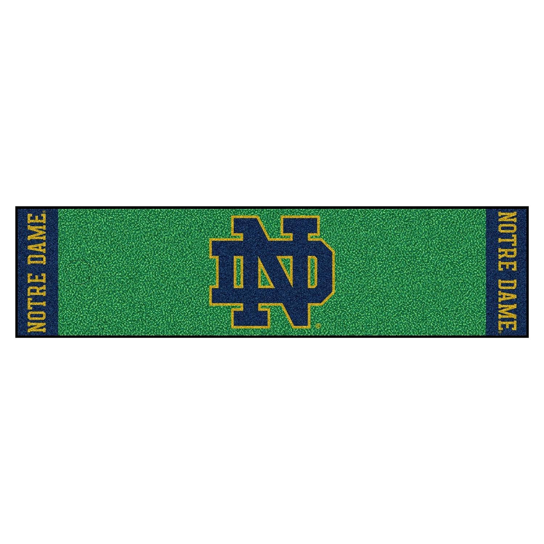 Fanmats NCAA Notre Dame Fighting Irish dameputtingグリーンマット、チームカラー、1サイズ   B07B3W1YF9