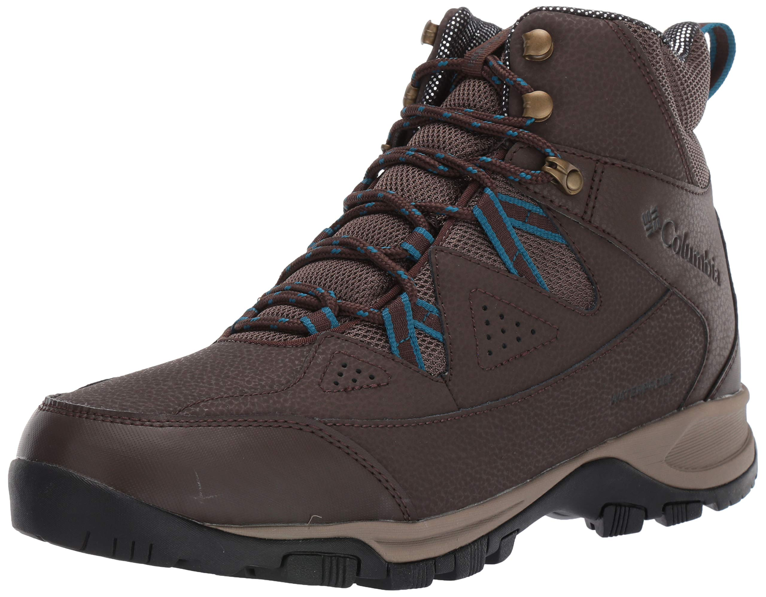 Columbia Men's LIFTOP III Snow Boot, Cordovan, Lagoon, 17 Regular US by Columbia