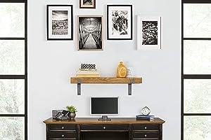 Martin Furniture WS30H Rustic Wall Shelf, 30