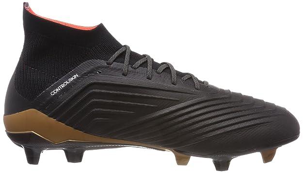 adidas Herren Predator 18.1 Fg Fußballschuhe, schwarzweiß