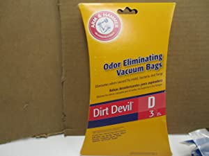 Arm & Hammer Odor Eliminating Vacuum Bags for Dirt Devil D