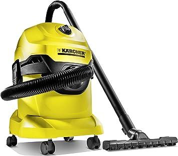 Karcher WD4 multiusos para aspiradora en seco y húmedo (con motor de 1800 W, diseño compacto, 1.348-115.0 1800W, 120V: Amazon.es: Bricolaje y herramientas