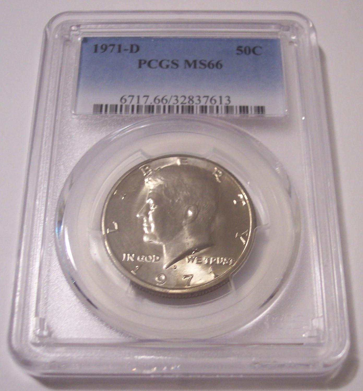2015 P /& D Kennedy Half Dollar 2 Coin Set 50c PCGS MS66