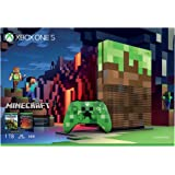 Microsoft Xbox One S 1TB Console (Free Game: Minecraft) - Limited Edition