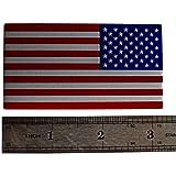 ALUMINUM American Flag Sticker Decal Emblem