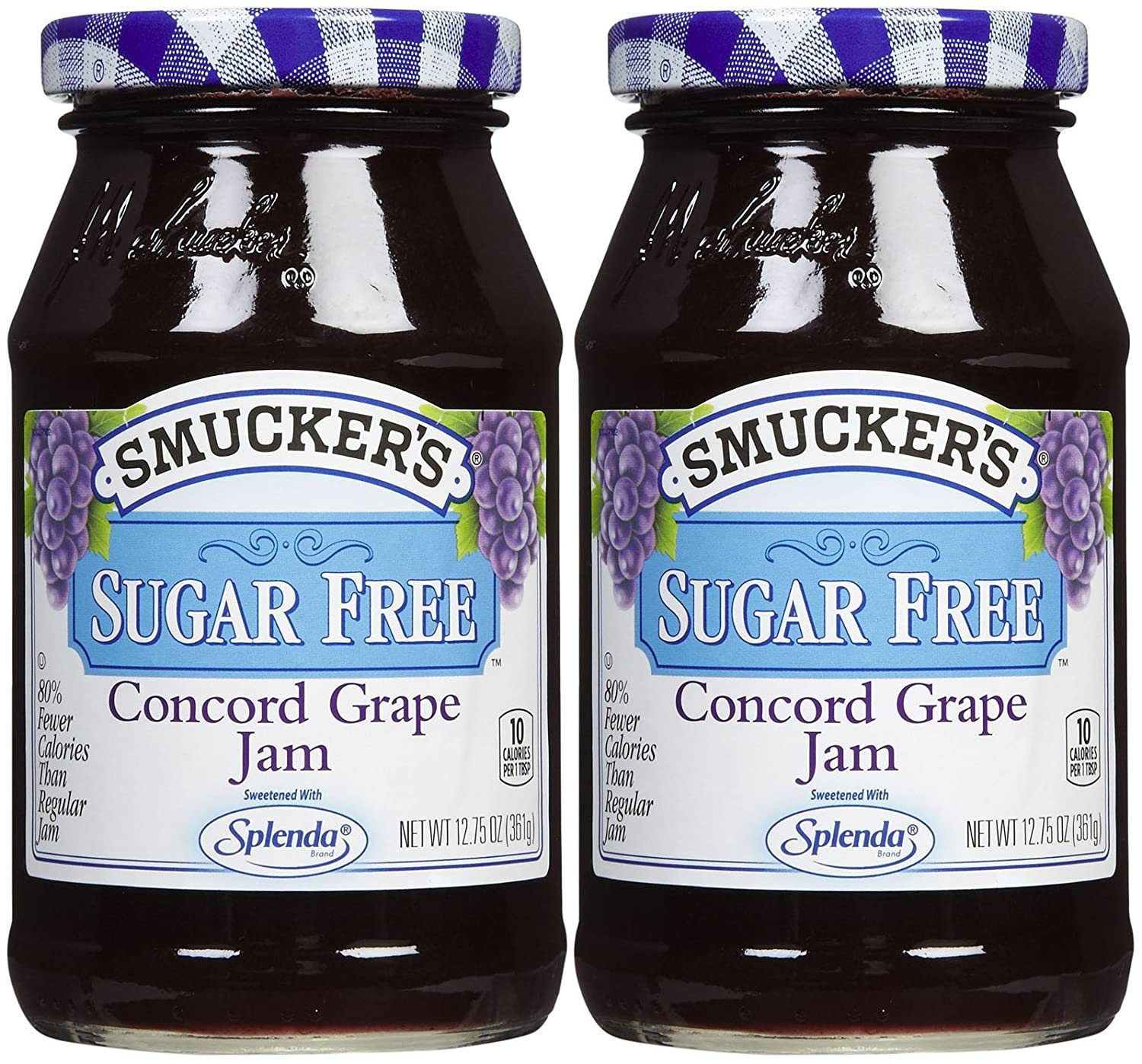 Smucker's Sugar Free Concord Grape Jam, 12.75 oz, 2 pk
