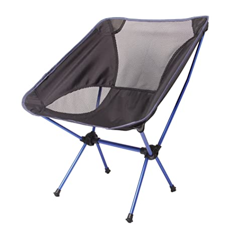 KORAMAN Portable Ultralight Folding Chair Outdoor/Picnic/Camping Heavy Duty(260  Lb)