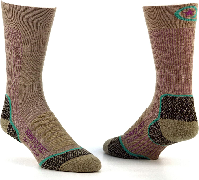 Farm to Feet Womens Damascus Lightweight Crew Merino Wool Socks