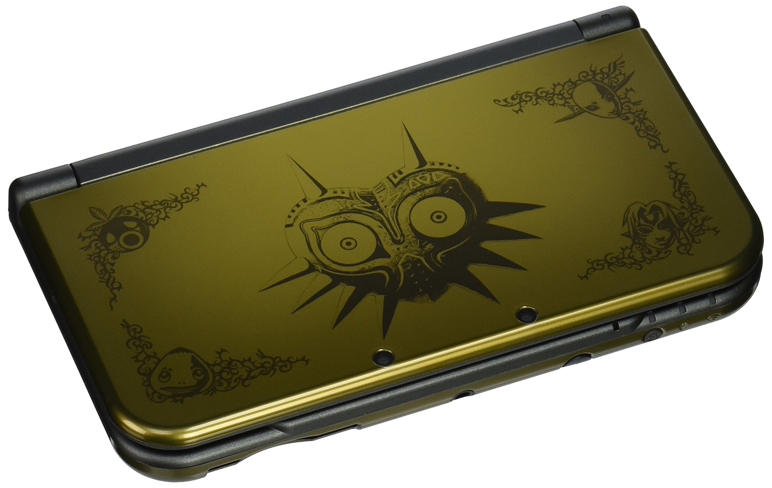 Nintendo - New 3DS XL Legend of Zelda: Majora's Mask Limited Edition - Gold/Black by Nintendo