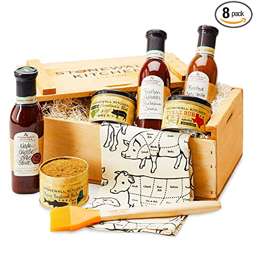 Stonewall Kitchen Father's Day Grilling Favorites Gift Crate