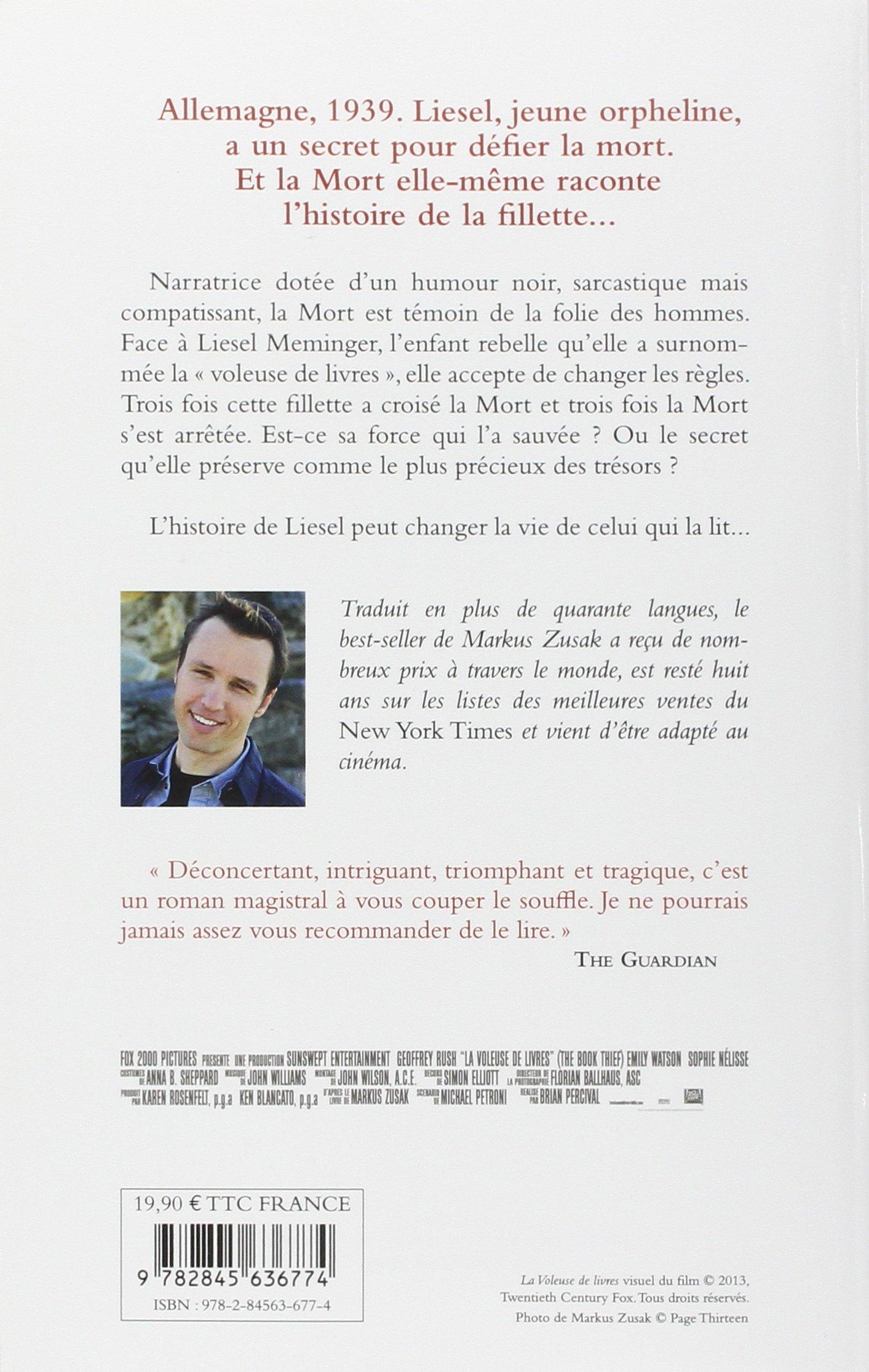 La Voleuse De Livres Markus Zusak 9782845636774 Amazon