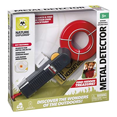 Lanard Nature Explorer Metal Detector, Hand-Held Toy: Toys & Games