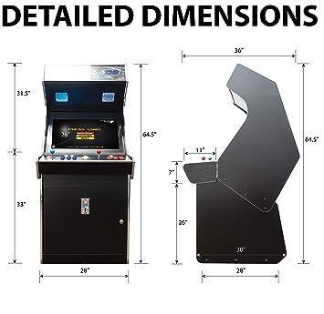 Amazon Com Creative Arcades Full Size Commercial Grade