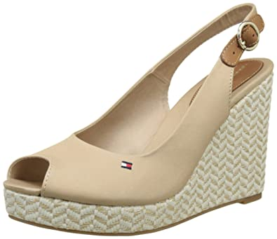 401b2bf86930ae Tommy Hilfiger Women s E1285lena 57d Wedge Heels Sandals