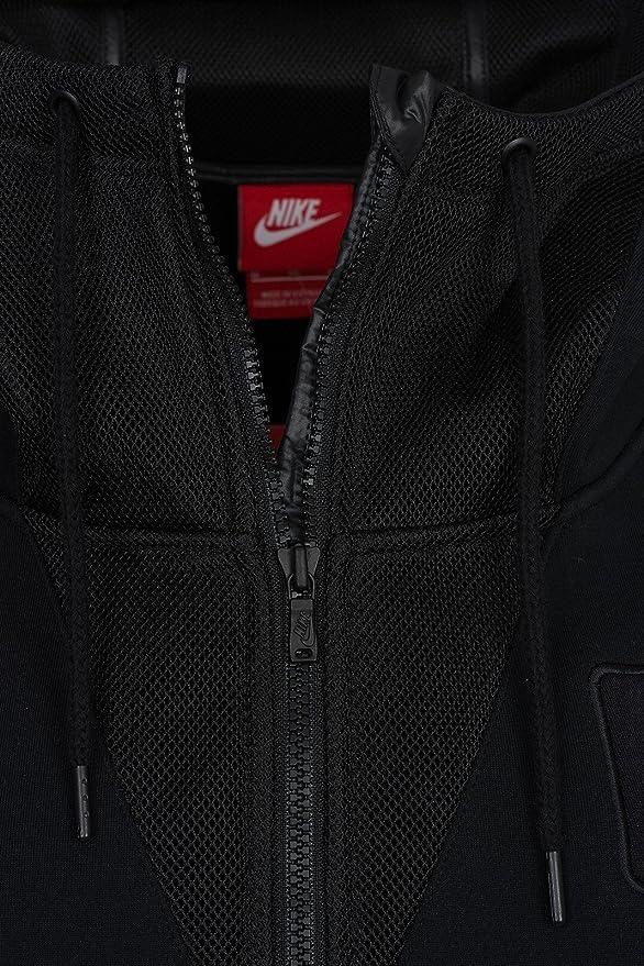 Chaleco de material mixto Nike para mujer (M, negro): Amazon.es: Ropa y  accesorios