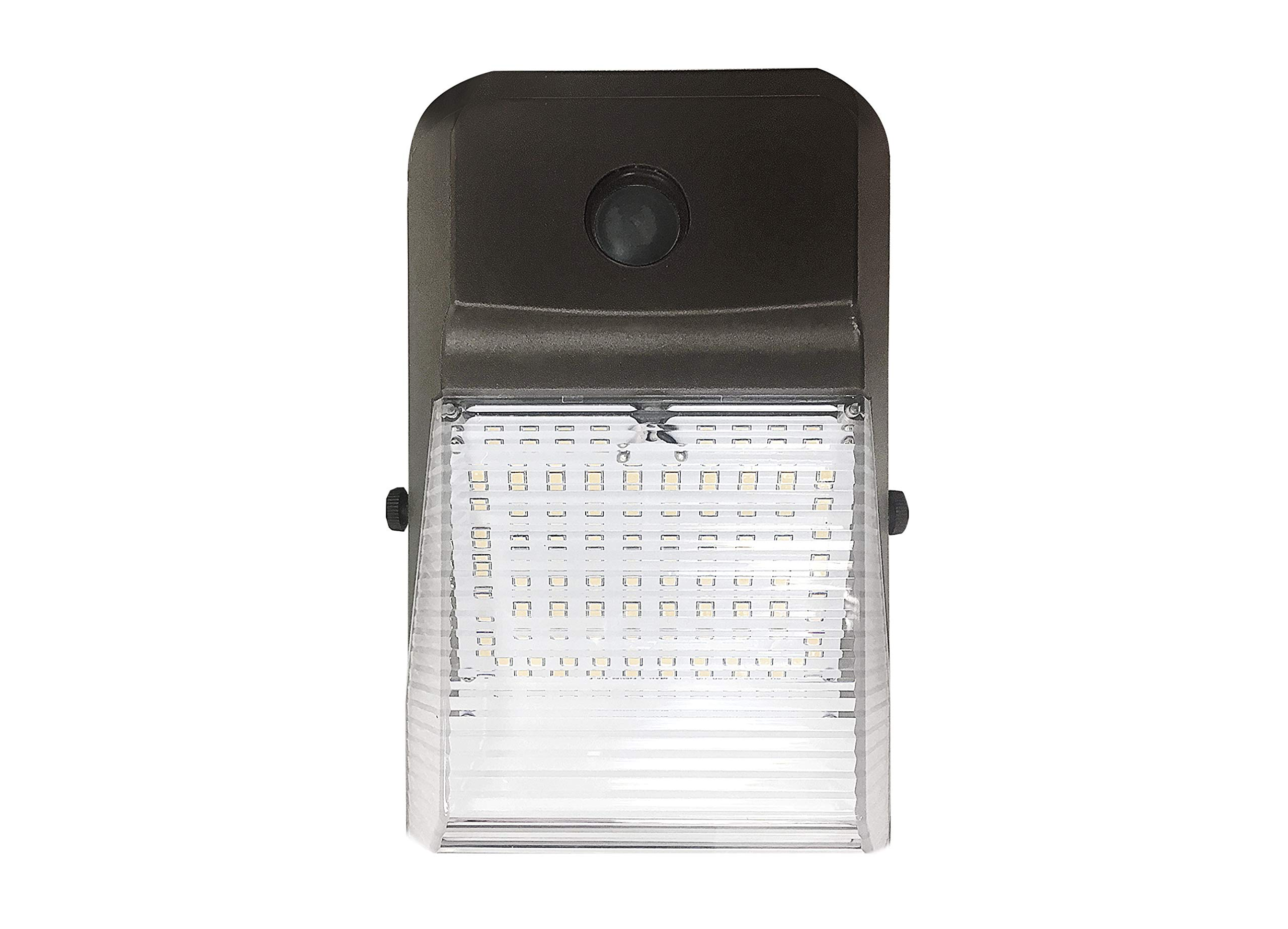 ASD 15W LED Wall Pack Light Outdoor, Commercial Grade, 4000K (Bright White), Bronze, Waterproof IP 65, Security Area Lighting, UL Certified, DLC Listed