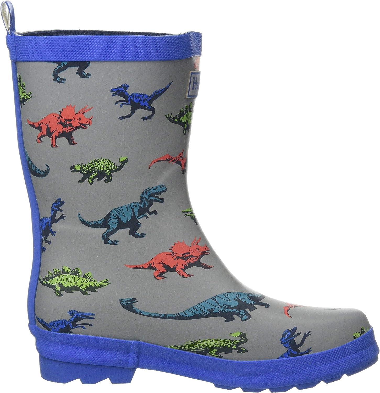Bottes /& Bottines de Pluie Fille Bleu Hatley Printed Wellington Rain Boots Butterfly Kaleidoscope 400 22 EU