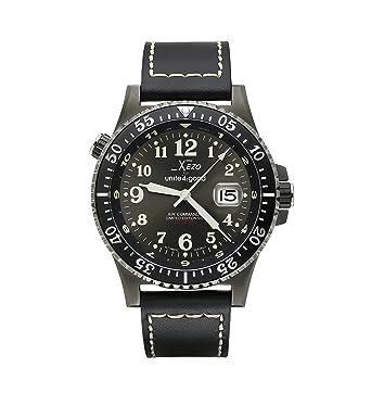 Reloj automático Air Commando Divers Xezo, Cristal de Zafiro,Movimiento Miyota 9015 Citizen, 30 ATM: Amazon.es: Relojes