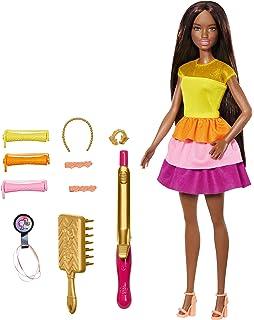 Amazon.es: Barbie - Crea sus Ondas, Muñeca Rubia con ...