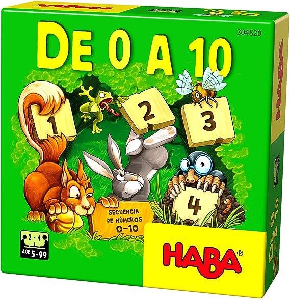 HABA- Juego de Mesa, De 0 a 10, Multicolor (Habermass H304520 ...