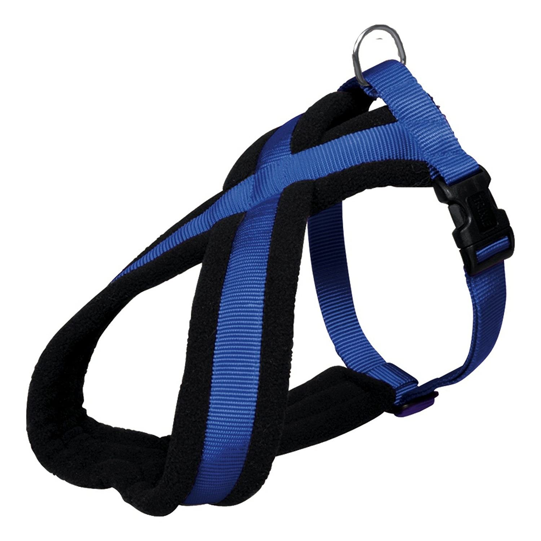 Royal bluee XSSTrixie Premium Touring Dog Harness (SM) (Black)