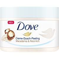 Dove Exfoliating Body Polish Scrub With Crushed Macadamia And Rice Milk, 225 ml