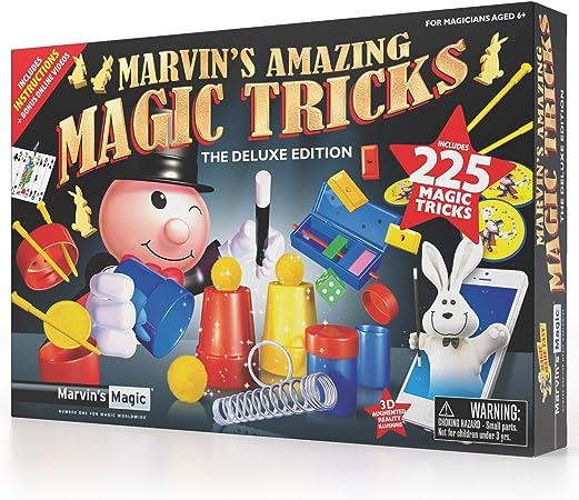 Marvin's Magic - 225 Amazing Magic Tricks for Children | Kids Magic Set | Magic Tricks for Kids Including Mystical Magic Cards, Magic Theatre, Magic Wand + More