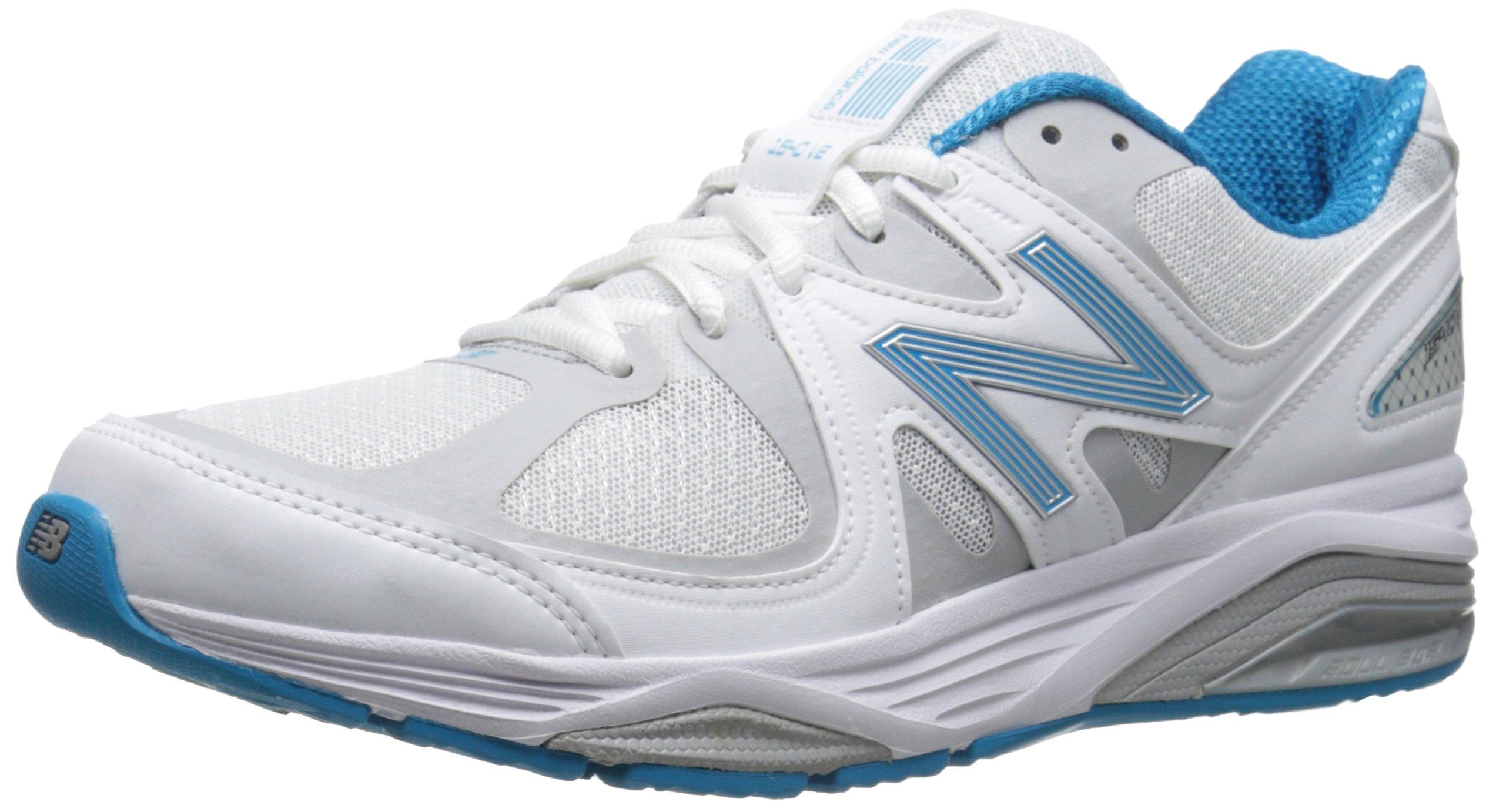 New Balance Women's W1540V2 Running Shoe, White/Blue, 11 B US