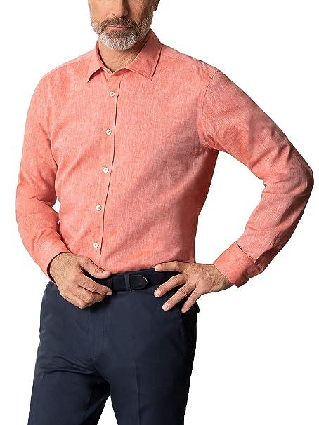 offizielle Seite Sonderkauf neuer Stil Walbusch Herren Hemd 25 Grad-Leinenhemd Regular Fit ...