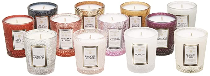 Amazoncom Voluspa 12 Candle Japonica Archive Gift Set 12 1 Ounce
