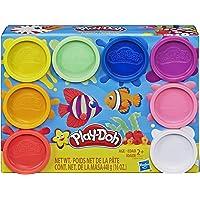 Play Doh Arcoíris Model Kit, 8 Pack