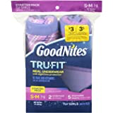 Goodnites Durable Underwear Starter Kit Small/Medium Girl, 7-Count