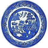 Churchill China Blue Willow Tea Plato 17cm