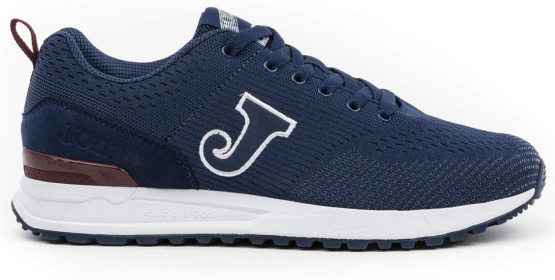 Joma - Zapatillas para Hombre, Tiempo Libre, C800, Color Azul Marino