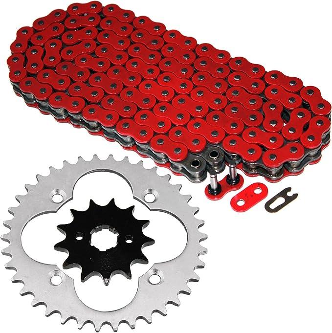 caltric rojo unidad junta tórica KIT de cadena y piñón para Honda TRX300EX trx-300ex Fourtrax 1993 – 2008