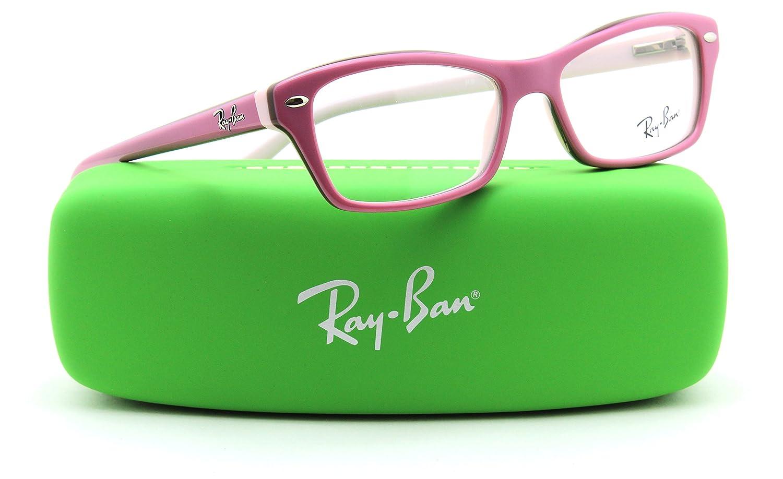 b4c8dee7872 Amazon.com  Ray-Ban RY1550 3656 Square JUNIOR Prescription Eyeglasses RX -  able