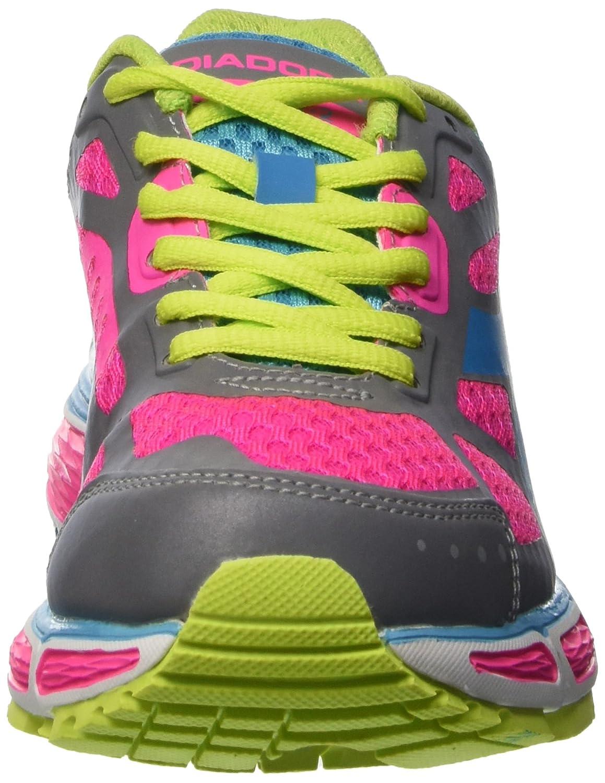 Diadora Damen N-4100-2 N-4100-2 Damen W Bright Wettkampfschuhe Multicolore (C3916 Argento Dd/Rosa Shocking) 513722