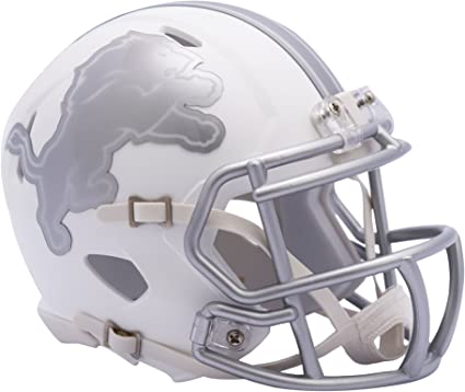Small Silver Riddell NFL Oakland Raiders Ice Alternate Full Size Speed Replica